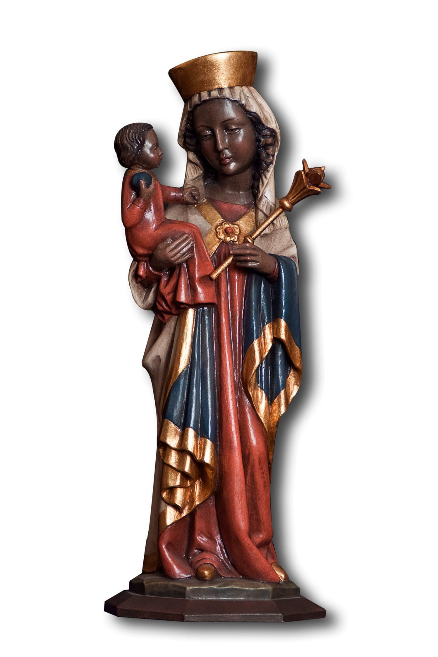 Heiligenfigur Schwarze Madonna Schlüsselanhänger 4411681 Höhe 4cm